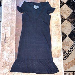 Women's SZ M Zac Posen Black Knit Dress